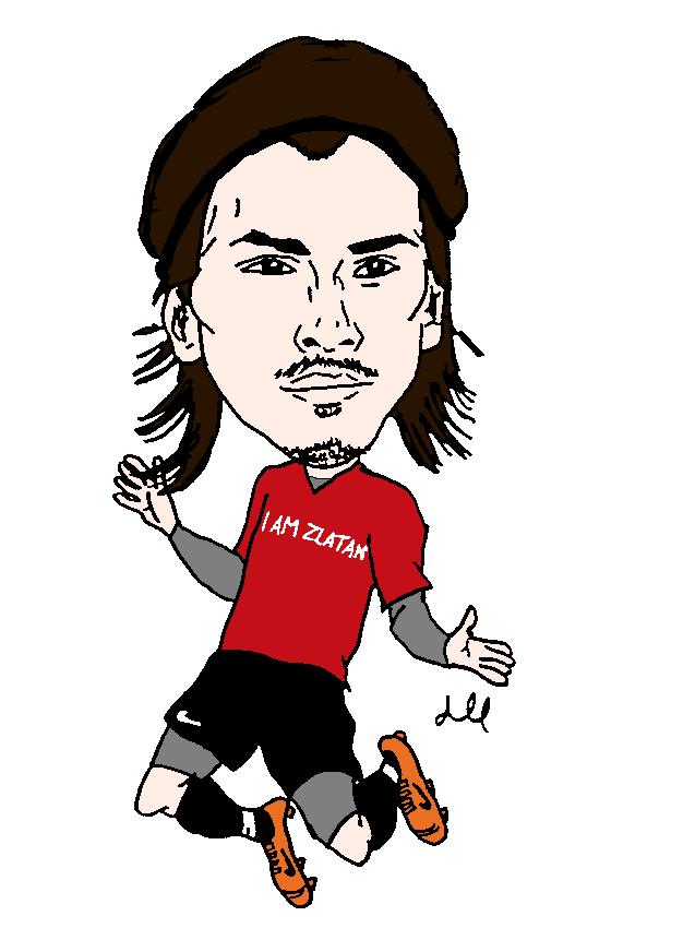 Zlatan Ibrahimovic Awaydraw Com